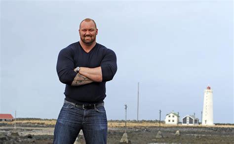 Hafthor Julius Bjornsson Strongman
