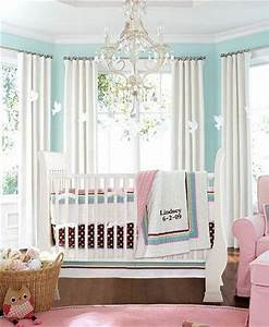 Brown white pink and aqua bedding baby mamas for Color scheme ideas for baby girl room