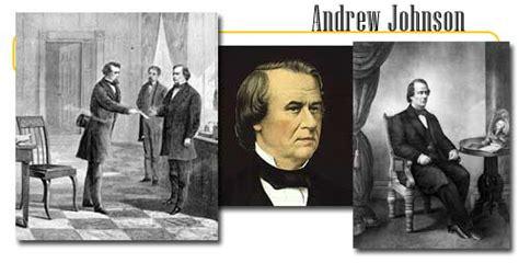 seventeenth  president andrew johnson