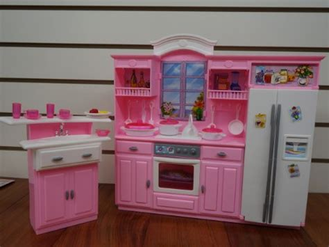 New My Fancy Life Kitchen Play Set Barbie Doll House