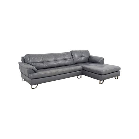 grey tufted sectional sofa 83 off ashley furniture ashley furniture gray tufted