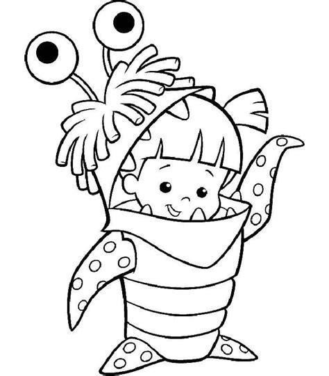 coloriage de monstre a imprimer coloriage a imprimer la fillette en costume de monstre gratuit et colorier