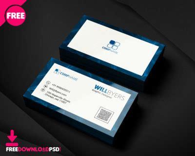 transparent corporate business card freedownloadpsdcom