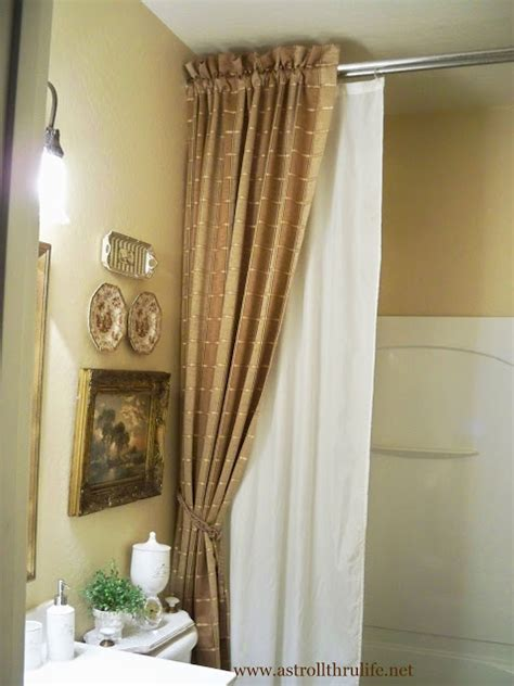 hometalk diy shower curtain ideas refreshrestyle ds