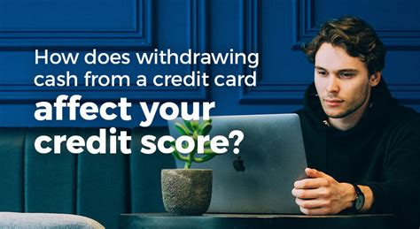 Charges for withdrawing money from credit card. How does withdrawing cash from a credit card affect your credit score?