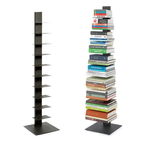 Sapien Bookcase Uk book shelf anthracite sapien bookshelf the container store