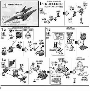 Mg V2 Gundam  Victory Two  Ver Ka English Manual  U0026 Color