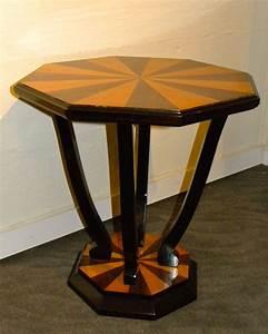 Custom, Art, Deco, Side, Table