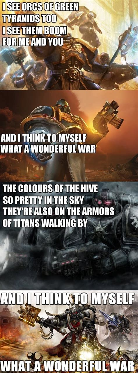 25 warhammer 40k memes to help you purge the heretics dorkly
