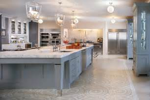 Stunning Large Kitchen Home Plans by Williams Blue Ribbon Color Palette Featured In