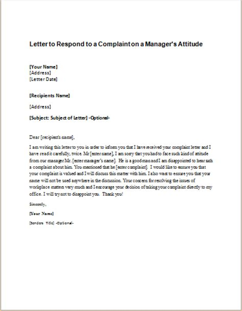 letter  respond   complaint  students safety