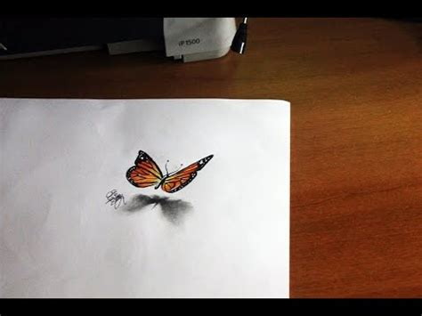 drawing   butterfly tutorial youtube