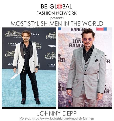 vote johnny depp stylish men