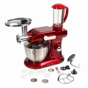 Robot Cuisine Multifonction : kitchencook robot multifonction rouge v2 evolution achat ~ Farleysfitness.com Idées de Décoration
