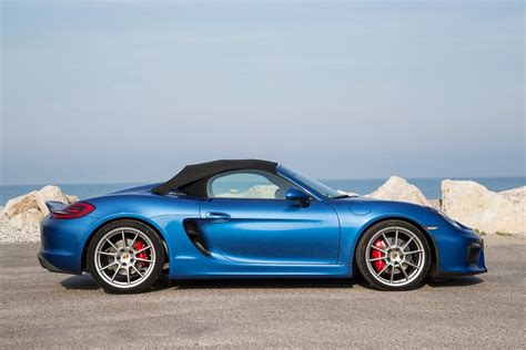 porsche boxster spyder 2016 porsche boxster spyder second drive review