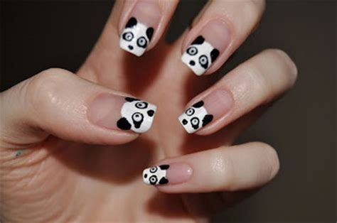 cute panda nail art designs ideas   fabulous