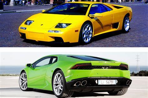 Lambo Vs by 2017 Lamborghini Huracan Vs 2000 Lambo Diablo