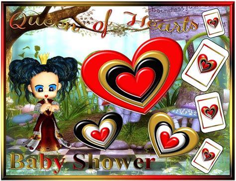 queen  hearts printable party supplies wonderlands