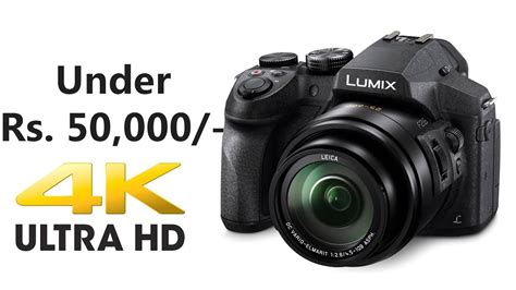 Best 4k Camera For Youtube Under Rs. 50000 (hindi)