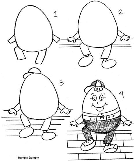 Humpty Dumpty Puzzle Template by Inkspired Musings Nursery Rhymes With Humpty Dumpty