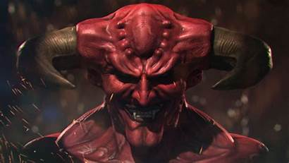 Demon Zbrush Head Painting Texture