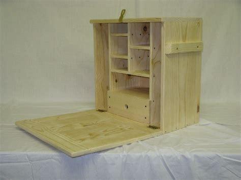 civil war field desk outdoor woodworking plans campaign