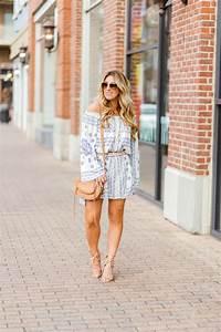 Boho Off the Shoulder Dress: Summer Style January Hart Blog