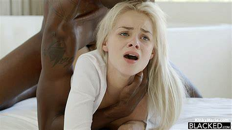 Elsa Jean Can Barely Fit His Pink Haired Cock Inside Her