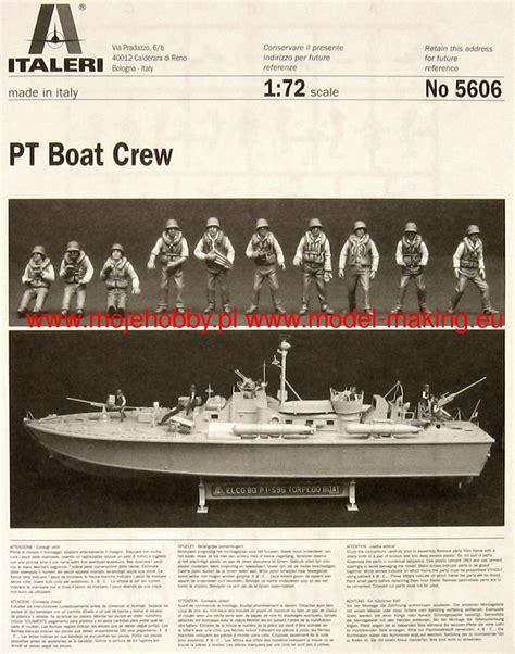 Italeri Pt Boat Crew by Elco 80 Pt Boat Crew Italeri 5606