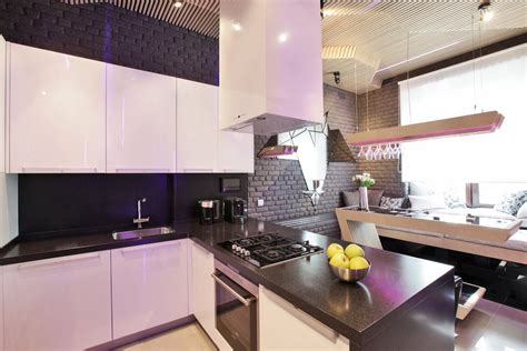 cool modern kitchen ideal  entertaining idesignarch interior design architecture