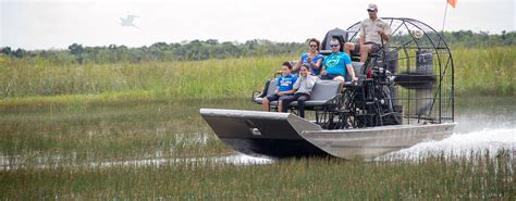 Everglades City Boat Tours by Florida Airboat Rides At Gator Park Everglades Airboat