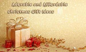 Adorable and Affordable Christmas Gift Ideas for Friends