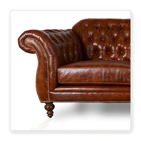 chesterfield sofa dark brown cococo custom chesterfield leather tufted sofas made in usa