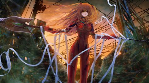 Wallpaper 1920x1080 Px Anime Girls Asuka Langley Soryu