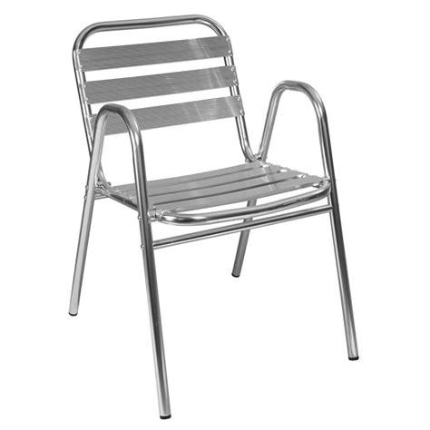 chaises terrasse aluminium achat mobilier de restaurant