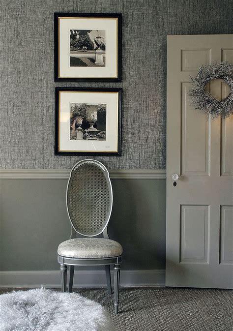 Wallpaper Under Chair Rail Wallpapersafari