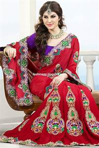 Indian Sarees for Wedding-Bridal Wear Collection 2013 ...