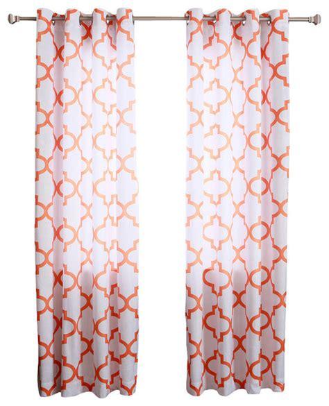 moroccan print curtain panels velvet moroccan print grommet top curtain pair 84