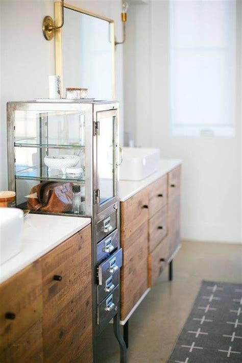 west elm bathroom vanity industrial metal bathroom vanity design ideas