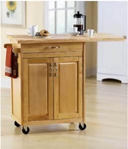 Rolling Kitchen Island Cart Counter Storage organization