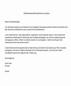 21 email cover letter examples samples With email cover letter