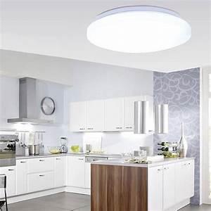 Deckenlampe Küche Modern : modern led dimmbar deckenlampe beleuchtung badlampe k che flur wohnzimmer balkon ebay ~ Frokenaadalensverden.com Haus und Dekorationen