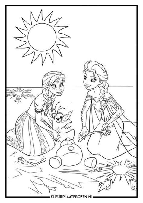 Kleurplaat Frozen by Elsa Kleurplaat Downloaden Groottste Aanbod Kleurplaat