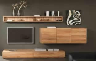 wohnzimmerwand design wohnwand wohnzimmerwand lowboard hängeschrank wandregal kernbuche massiv geölt wohnzimmer