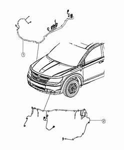 Dodge Journey Wiring  Jumper  Pedestrian Protection