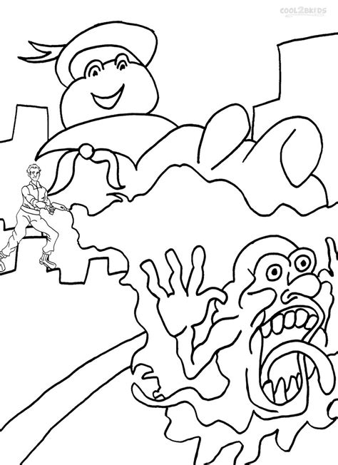 printable ghostbusters coloring pages for cool2bkids