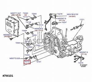 New Oem Motorcraft Turbine Shaft Speed Sensor Ford Taurus