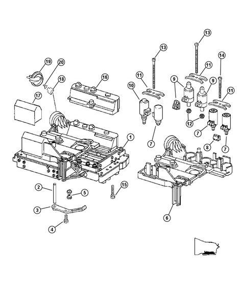 aa mopar connector assembly valve body