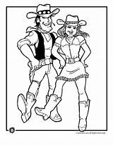 Cowboy Cowgirl Dancing Coloring Country Dance Desenho Gifs Adult Square Colouring Jr Animal Damaso Colorir Western Line Desenhos Cowboys Tanzen sketch template