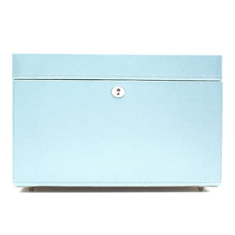 wolf  london medium jewellery box ice